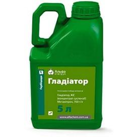 Гладиатор гербицид к.с (аналог Голтикс) 5 литров ALFA Smart Agro