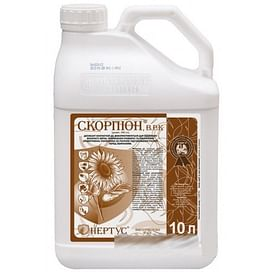 Скорпион десикант в.р.к. [аналог Реглон] 10 литров Нертус/Nertus