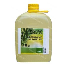 Хлормекват хлорид регулятор роста в.р.к. 10 литров BASF/Басф