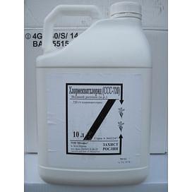 Хлормекватхлорид регулятор роста в.р. (аналог Хлормекват-хлорид) 10 литров Штефес/STEFES