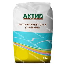 АКТИВ-HARVEST Dry K (3-8-38+МЕ) удобрение 20 кг АКТИВ-HARVEST