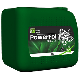 Паверфол Zn EDTA (POWERFOL ZN EDTA) удобрение 20 литров TerraTarsa