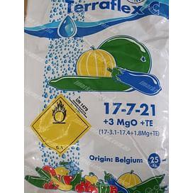 Terraflex - C 17-7-21+3MgO+TE (Террафлекс С - Для Огурцов, Кабачков) удобрение 25 кг Terraflex