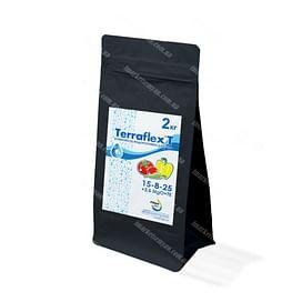 Terraflex - T 15-8-25+3.5MgO+TE (Террафлекс Т - Для Пасленовых Культур) удобрение коробка 2 кг Terraflex
