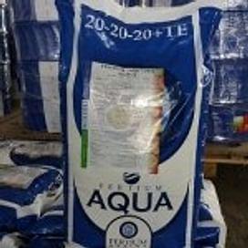 Фертиум Аква 20-20-20 (FERTIUM AQUA 20:20:20) удобрение мешок 25 кг FERTIUM AQUA
