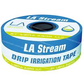 Капельная лента LA Stream щелевая 8mil-10-1000 (1 000 метров)