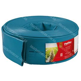 "Layflat Heliflex Monoflat гибкий шланг 5""(129mm) 4,0 бар (синий) 100 метров Heliflex"