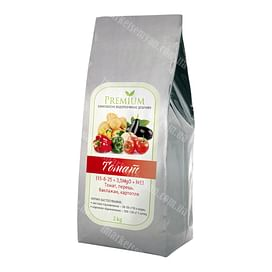 Premium Томат | Премиум Томат (15-8-25 +3,5 MgO + МЕ) комплексное удобрение 2 кг Libra Agro