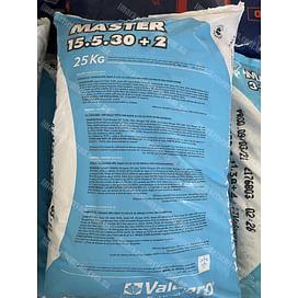 Мастер 15.5.30 2 (Master 15.5.30 + 2) удобрение 10 кг Valagro
