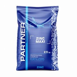 Partner ZINC MAXI (Партнер цинк макси) N 7+S 6+ZN 10+MGО 3 комплексное удобрение 2,5 кг; 10 кг Partner