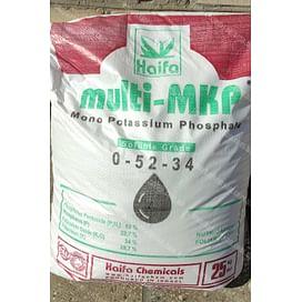 Multi-MKP 0-52-34 (Монокалий фосфат) комплексное водорастворимое минеральное удобрение 25 кг Haifa