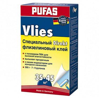 Клей обойный для флизелиновых обоев Pufas