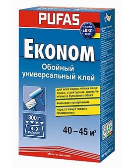 Клей обойный Pufas EURO 3000 эконом - универсальный 300