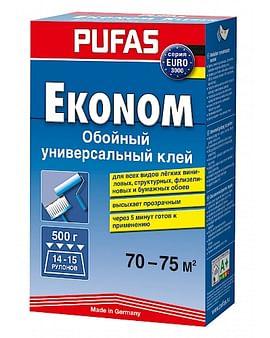 Клей обойный Pufas EURO 3000 эконом - универсальный 500