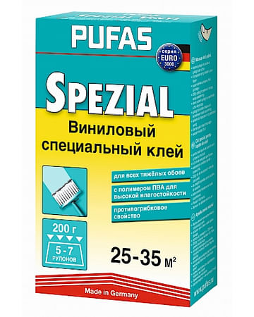 Клей обойный Pufas EURO 3000 виниловый специальный 200