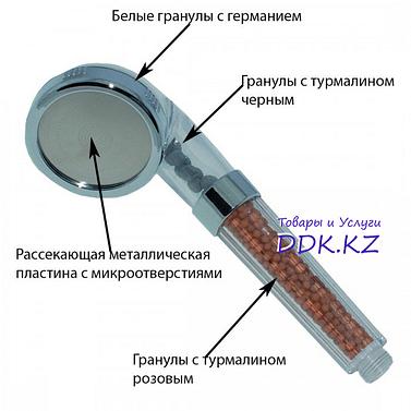 Душевая насадка кристаллическая Sejin Aqua SJ-1000