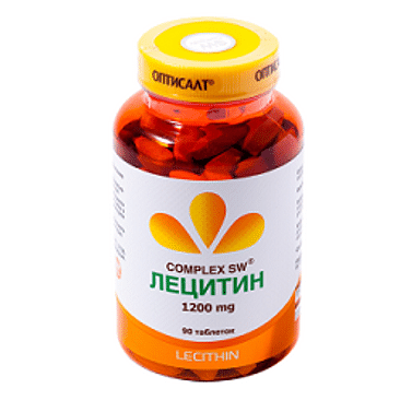 Лецитин Оптисалт 90капсул