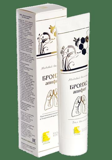 БРОНХО-Апифит Бальзамы Короткова туба 100мл