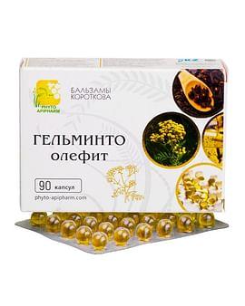 ГЕЛЬМИНТО-олефит Бальзамы Короткова 90 капсул