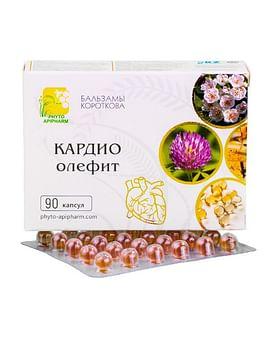 КАРДИО-опифит Бальзамы Короткова 90 капсул