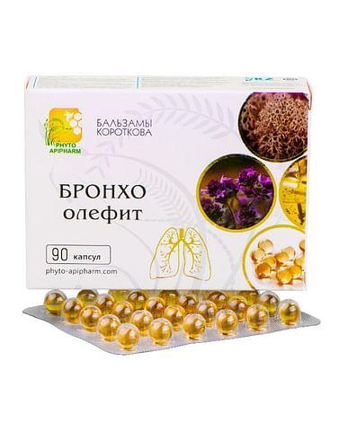 БРОНХО-олефит Бальзамы Короткова 90 капсул