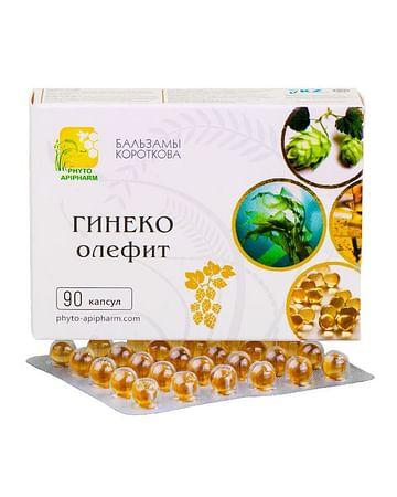ГИНЕКО-олефит Бальзамы Короткова 90 капсул