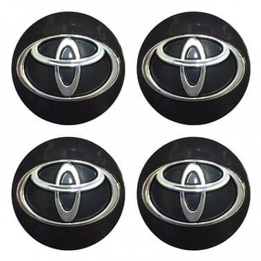 Наклейки на колпаки Toyota 90 мм Kenguru