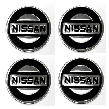 Наклейки на колпаки Nissan 90 мм Kenguru