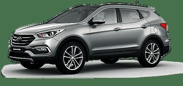 Багажник Hyundai Santa Fe 2019 - Kenguru Integra Techno