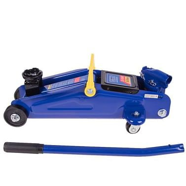 Домкрат гидравлический подкатной 2т 140мм - 340мм с поворотной ручкой, 9 кг Kenguru T820033RS