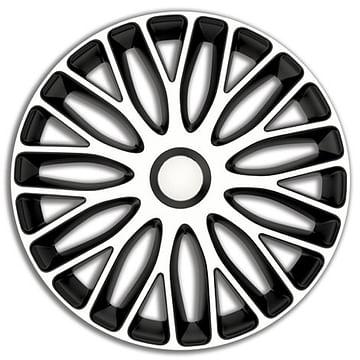 Колпак колесный mugello (черно-белый) r13