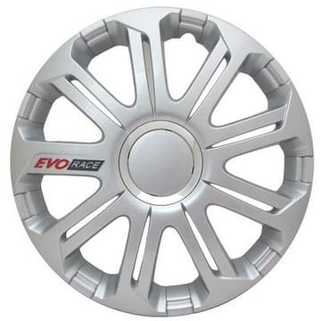 Колпак колесный evo race pro (серебристый) r15