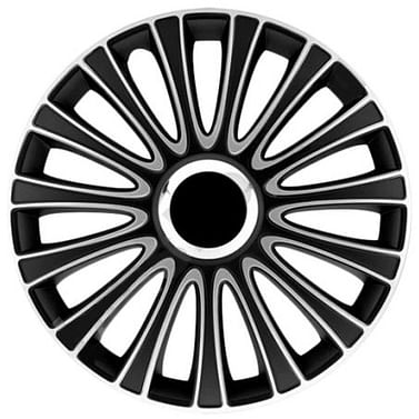 Колпак колесный lemans pro (серебристо-черный) r15
