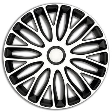 Колпак колесный mugello (черно-белый) r15