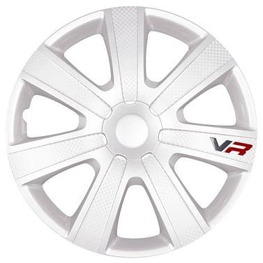 Колпак колесный vr-carbon (белый) r16