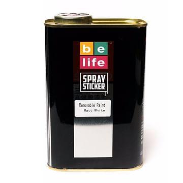 Belife spraysticker pro жидкая резина, 1л (черный матовый, белый матовый, лак прозрачный матовый) Belife