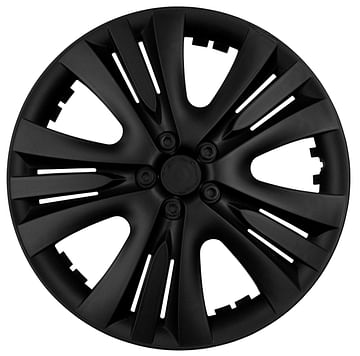 Колпак колесный Люкс R13 Черный Kenguru Lux