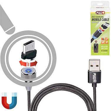 Кабель магнитный PULSO USB - Micro USB 2,4А,