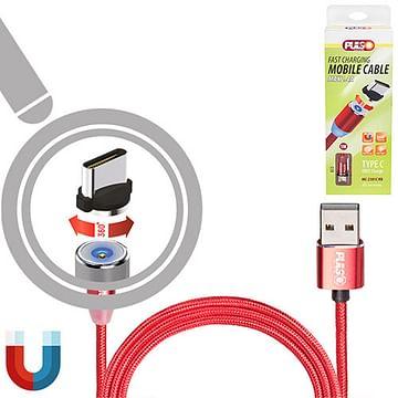 Кабель магнитный PULSO USB - Type C 2,4А Vitol