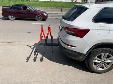 """Крепление """"Платформа"""" для 3 х велосипедов в """"Американский квадрат"""""""" Kenguru"""