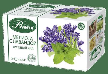 Мелисса с Лавандой Травяной ФитоЧай, 20 x 1,75 гр BIOFIX