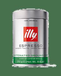 Кофе ILLY молотый без кофеина 250 гр ILLY
