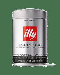 Кофе ILLY молотый тёмной обжарки 250 гр ILLY
