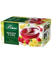 Фруктовый чай Малина с Липой, Премиум biofix