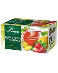 Фрукотвый чай Имбирный с Айвой и Клубникой, Премиум biofix
