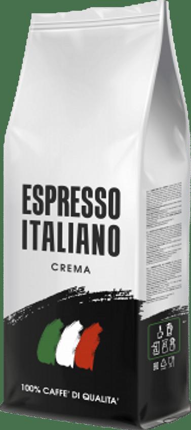 Кофе в зернах ESPRESSO ITALIANO,Crema, 1кг,Зерно Kavos Bankas