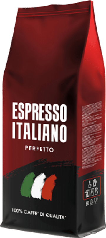 Кофе ESPRESSO ITALIANO,PERFETTO, 1кг,Зерно Kavos Bankas Kavos Bankas