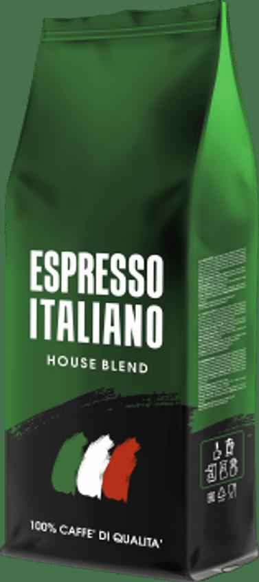 Кофе ESPRESSO ITALIANO,HOUSE BLEND, 1кг,Зерно Kavos Bankas