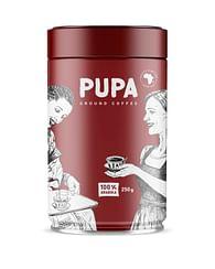 Молотый Кофе PUPA, Африка,100% Арабика,250 гр Kavos Bankas