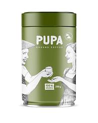 Молотый Кофе PUPA, Азия,100% Арабика,250 гр Kavos Bankas